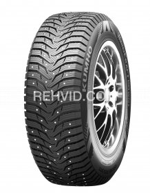 205/55R16 Kumho WinterCraft WI31+ 91T STUDDED