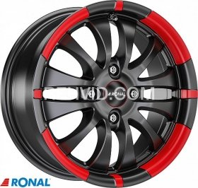 RONAL R59 MB/RED 7.5X17 5X112/48 (76.0) (PKR13) (BRR) (TUV) KG800
